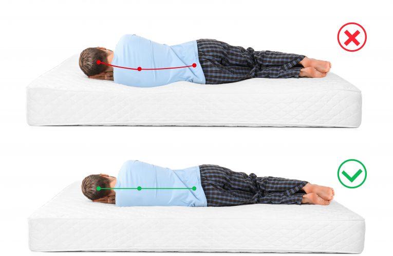 Pravilni položaji tela u toku odmora ili spavanja